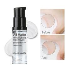Invisible Pore Foundation Primer All Matte Face Primer Oil- control Smooth Face Primer Makeup Maquiagem Maquillaje