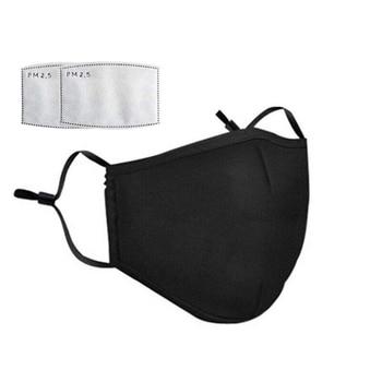 Pm2.5 black mouth mask cotton anti