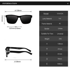 Image 3 - Viahda 2020 인기 브랜드 편광 선글라스 남성 스포츠 선글라스 여성용 여행 Gafas De Sol