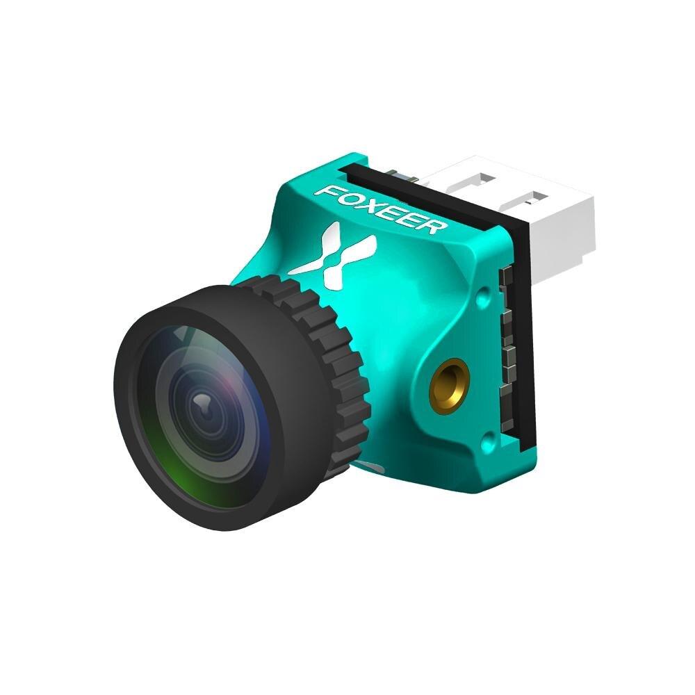 FOXEER prédateur 4 Nano tout Wether Racing FPV caméra 1000TVL Super WDR OSD pris en charge PAL/NTSC 16:9 4:3 commutable pour la course Dron