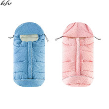 Warm Baby Stroller Sleeping Bag Autumn Winter Newborns Pram Footmuff Infant Car Seat Sleepsack