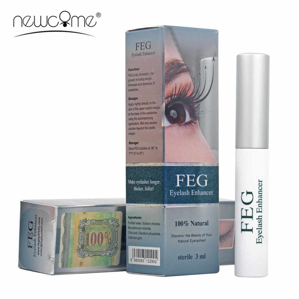 Đình Newcome FEG Mi Tăng Cường Sinh Lý Kẻ Mắt Eyebrown Chất Lỏng Điều Trị Tự Nhiên Eyelash Serum Kích Dụng Cụ Trang Điểm