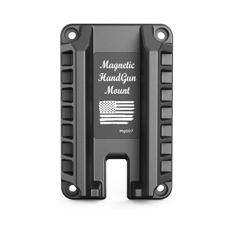 Magorui Gun Magnet Mount Magnetic Flat Top Handgun Mount Concealed Tactical Firearm Accessories For Glock Sig XD M&P Ruger