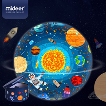 Mideer Space Universe Children's Educational Puzzle 150 Pieces Boy and Girl Brain Toy Educational Toys Jigsaw Puzzle 3-6Y