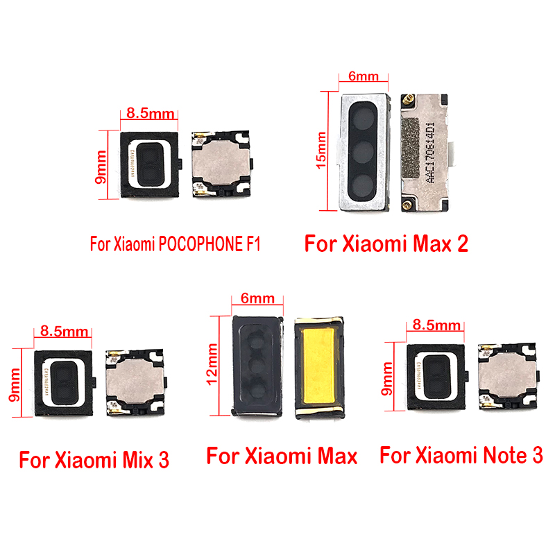 New Earpiece Speaker Sound Receiver Flex Cable For Xiaomi Mi 9 9se 8 8se Lite 5 5S 6 A1 5X A2 6X Pocophone F1 Max Mix 2 Note 3