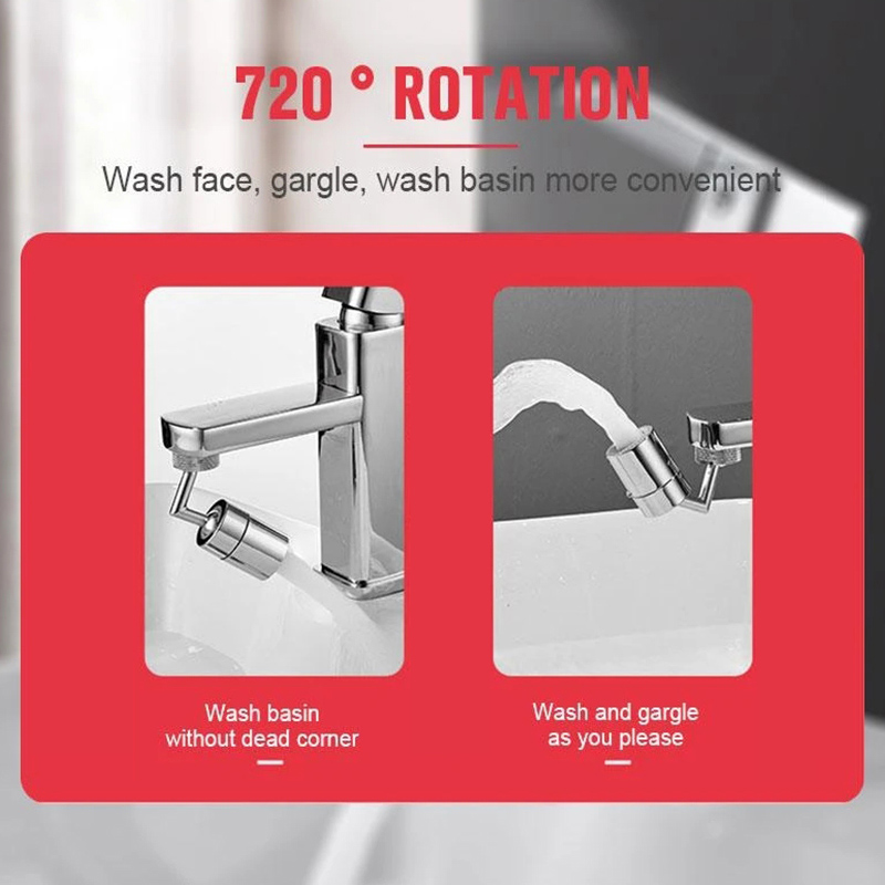 360 720 Rotatable Faucet Sprinkler Splash Proof Faucet Shower Water Saving Pressurized Faucet Kitchen Accessories 360°/ 720°Rotatable Faucet Sprinkler Splash-Proof Faucet Shower Water-Saving Pressurized Faucet Kitchen Accessories для кухни