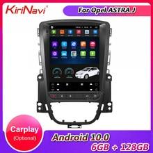 Kirinavi tela vertical tesla estilo 10.4 android android android 10.0 rádio do carro para opel astra j buick carro dvd player auto gps navegação 4g