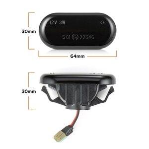 Image 5 - Dynmic רכב הפעל אות אורות LED הפעל מחוון נצנץ מנורת אות מנורת סמן צד 26160AX00A עבור ניסן הקאשקאי Navara Micra
