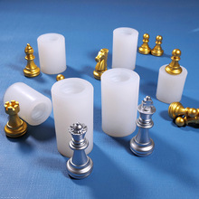 Chess Epoxy Resin Mold 3D International Chess UV Epoxy Resin Silicone Mold for Home Decoration Making Components Crafts Toy DIY