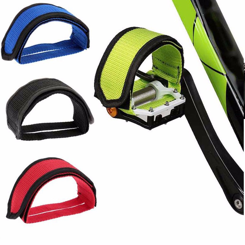 Anti-slip Bicycle Cycling Pendal Bands Tape Toe Clip straps Belt Adhesivel MTB Mountain Road BMX Fixed Gear Bike Accessories
