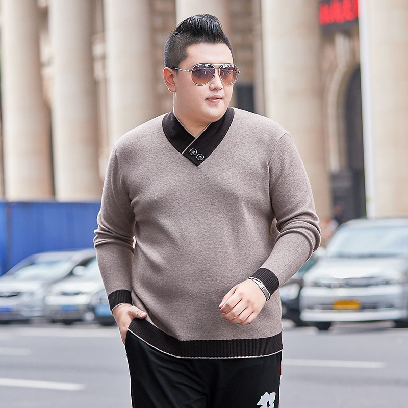 Plus Size 8XLHigh Quality Men Sweater Pullovers Casual Sweaters Men Large Size Outwear Turtleneck Sweaters Winter Warm Sweaters