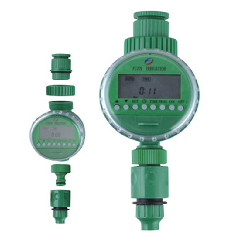 Electronic-Water-Timer Display-Watering-System Garden-Irrigation-Controller Automatic title=