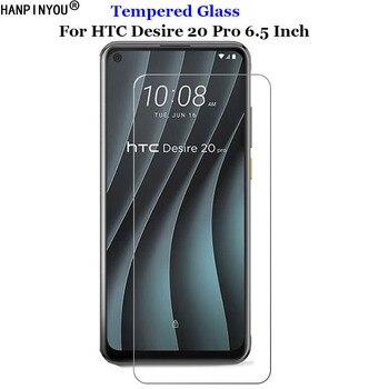 Перейти на Алиэкспресс и купить Для HTC Desire 20Pro закаленное стекло 9H 2.5D Премиум Защитная пленка для экрана для HTC Desire 20 Pro 6,5дюйм
