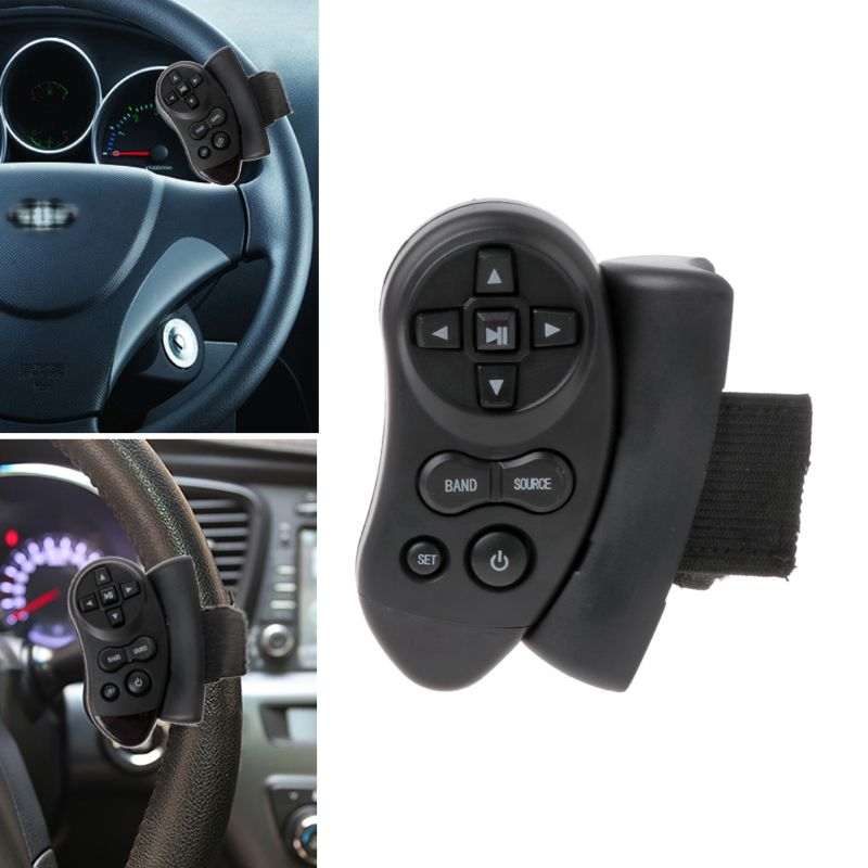Universal Steering Wheel Learning Bluetooth Remote Control For Car CD DVD VCD G6KC
