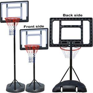 Rack Basketball-Trainer Backboard Movable Outdoor Children Hoop Fitness Adult Gym Home