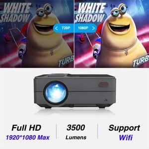 Image 3 - Caiwei C180 Mini projecteur intelligent hd TV Mobile Android petit projecteur dans les projecteurs de cinéma maison projecteurs vidéo dextérieur