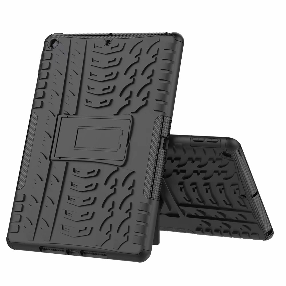 Shockproof Child Kids Defender Hybrid-Armor Case-Cover Rugged iPad Apple for Heavy-Duty