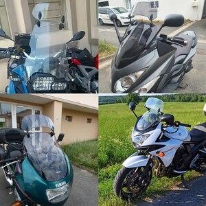 Image 5 - Motorcycle Risen Adjustable Wind Screen Windshield Spoiler Air Deflector for Honda BMW KAWASAKI YAMAHA HONDA SUZUKI DUCATI