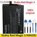 Nubia оригинальный новый высококачественный аккумулятор 5020 мАч Li3949T44P6h996644 для ZTE Nubia Red Magic 3 Magic3 NX629J батареи