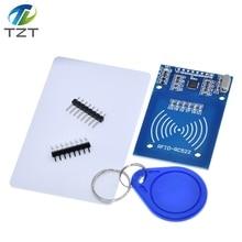 1 шт. MFRC-522 RC-522 RC522 антенна RFID IC беспроводной модуль для Arduino IC ключ SPI писатель считыватель IC карты Бесконтактный модуль