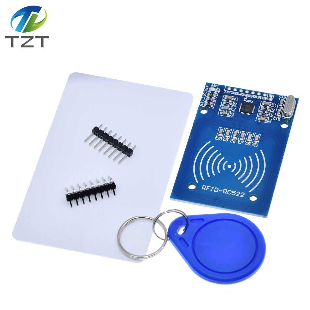 1pcs MFRC-522 RC-522 RC522 Antenne RFID IC Draadloze Module Voor Arduino IC KEY SPI Schrijver Reader IC Card Proximity module