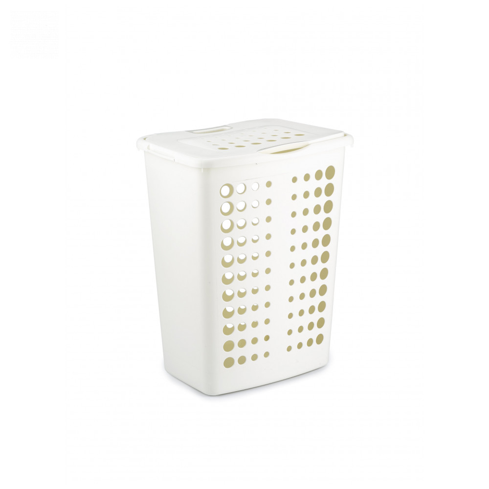 Laundry Baskets CURVER 00047 Home Storage Organization Laundry Plastic Basket Pannier