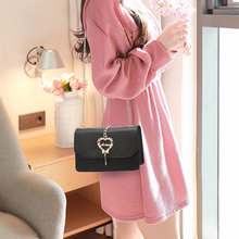 box design chinese tower print pu leather ladies bucket bag chain shoulder bag crossbody mini messenger bag for women handbag Women Bag Crossbody Bag Buckle Handbag Sequins Chain Shoulder Bag Casual pink Messenger Bag for Ladies Purse PU Leather Tote Bag