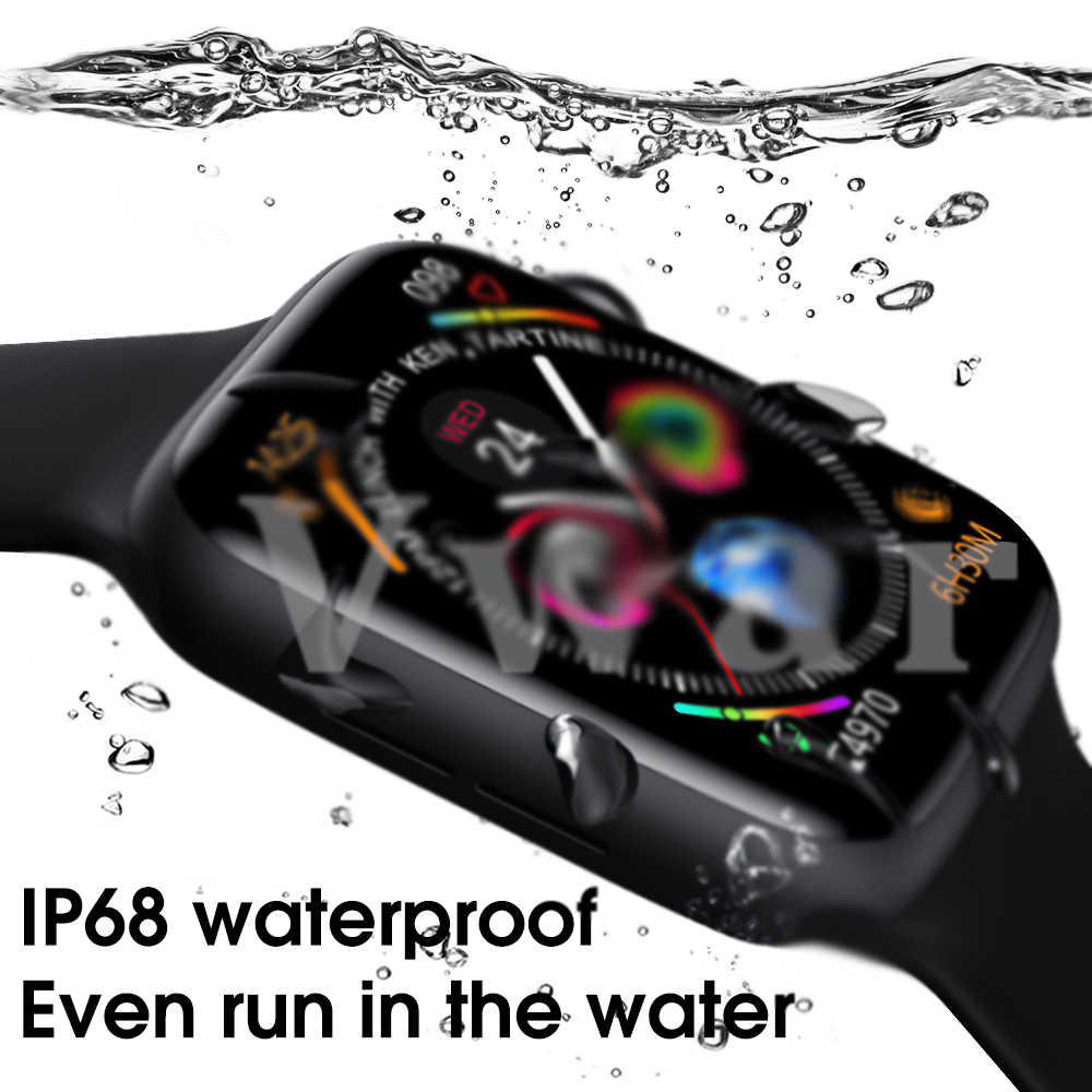 Vwar montre 6 montre intelligente Bluetooth appel IP68 étanche Fitness Tracker VS IWO 12 Plus Smartwatch pour iPhone téléphone Android