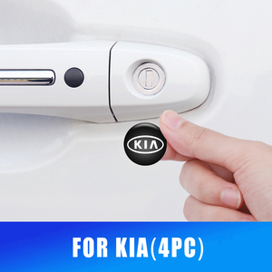 Image 1 - 20มม.ประตู Keyhole สติกเกอร์ป้องกันสำหรับ Kia Rio K2 Sportage Sorento Cerato แขน Soul Picanto Optima Decals สติกเกอร์