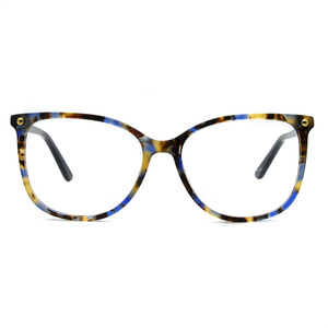 Image 3 - יד משקפיים מסגרות מכירה לוהטת ברור נשים אצטט אופנה ליידי Oversize גדול משקפי אדום דמי משקפיים FVG7057