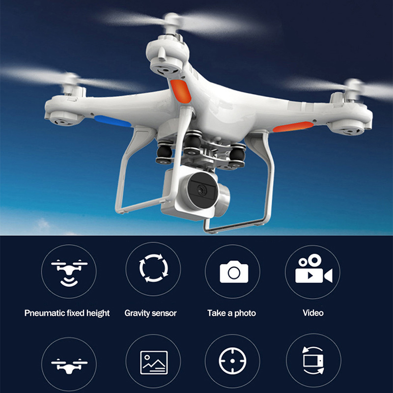 SH5 HD 1080p Camera Drone Wide-angle HD Quadcopter Aircraft One-touch Landing / Takeoff WIFI Transmission Rc Helicopter