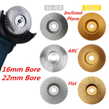 High Quanlity Wood Grinding Wheel Rotary Disc Sanding Wood Carving Tool Abrasive Disc Tools For Angle Grinder 4inch Bore