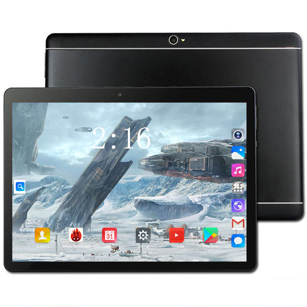 10 Inch Tablet Pc 3G/4G LTE Android 8.0 10/Ten Core Super Tablets RAM 6GB ROM 128GB WiFi Dual SIM 1920*1200 IPS 10.1 Tablet