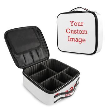 2021 nowa kosmetyczka kosmetyczka organizator do torby kobiety podróż makijaż przypadki duża pojemność kosmetyki walizki do makijażu dostosuj tanie i dobre opinie ALAZA Oxford CN (pochodzenie) 8 9inch Patchwork 3 6inch 9 8 in Sprawy kosmetyczne zipper Moda 625g A04H19008 cosmetic bag for make up