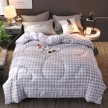New Winter comforter soft quilts 200*230cm home bedding winter blanket Freshness style thicken duvet 100% Washed cotton