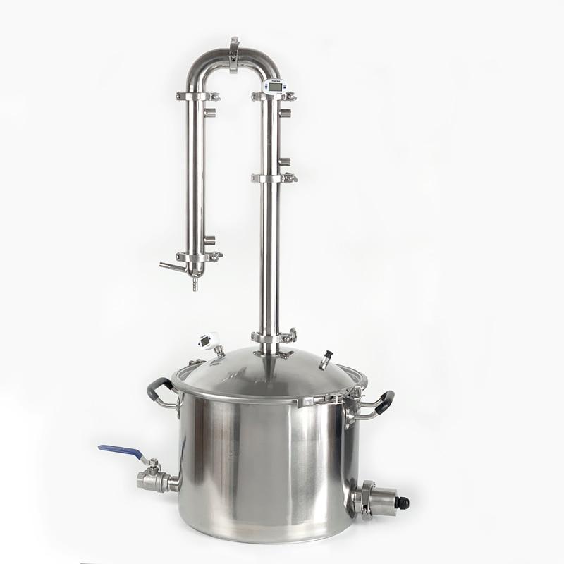 25L Moonshine Still , Distiller, Distillation Column 1,5