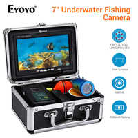 Eyoyo EF07 Fish Finder Underwater Fishing Camera peche 7 Video Underwater camera fishing DVR Infrared Lamp ICE Fish fischfinder
