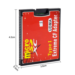 Image 2 - CHIPAL High Quality New Micro SD TF to CF Adapter For MicroSD SDHC SDXC to Compact Flash Type I Memory Card With Retail Package