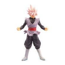 Figura de Dragon Ball Z Anime Super Saiya seis 7 pulgadas DBZ hijo de Goku Jiren modelo 16-18cm Kakarotto de escritorio adornos Figma
