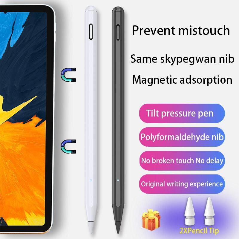 Подходит для стилуса Apple Pencil 2, ручка для iPad Pro 11 12,9 2020 2018 2019 7th 8th Air 3 4, треугольная стилус для iPad