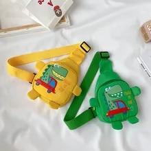 Bags Backpack Harness Dinosaur Travel Toddler Baby Children's Cartoon Cross-Body Cute