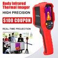 A-BF тела Инфракрасный Тепловизор термометр Температурный скрининг Высокое разрешение человеческий пирометр тепловая камера Live display