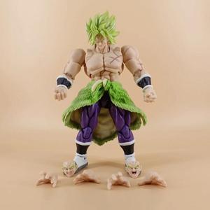 18CM Dragon Ball Z Broli wspólny ruch figurka kolekcja pcv zabawki modele brinquedos na prezent na boże narodzenie