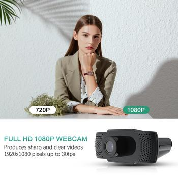 BENTOBEN HD 1080P Webcam with Microphone Auto Focus Video Record WebCamera for PC Gamer Streaming YouTube Conference Work 2