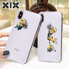 For Funda iPhone 5S Case Yellow Boy for Cover iPhone 6S Case Soft Transparent TPU for iPhone 5 Case 6 6S 7 8 Plus X XS Max XR