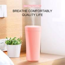 550ml Essential Oil Diffuser Colorful Lamp Humidifier Creative Car Air Purifier USB Electronic Car Atomizer Car Accessories(China)