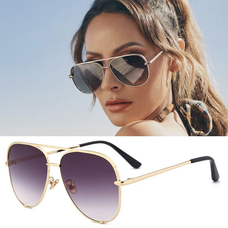 Sexy Lady Vintage Round Metal  Sunglasses Men Driving Black Retro Mirror Sun Glasses Lady Shade Sunglasses UV400 Oculos De Sol 4