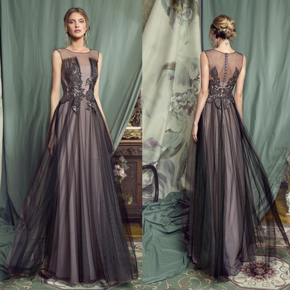 2020 Mother Of The Bride Dresses Jewel Sleeveless Lace Appliques Evening Gowns Custom Made Floor Length Wedding Guest Dress