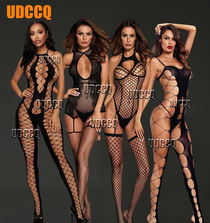Frauen Sexy Fishnet Dessous Unterwäsche Chemises Catsuit produkt Teddies erotische Catsuit cosplay slutty kleidung plus größe kleidung