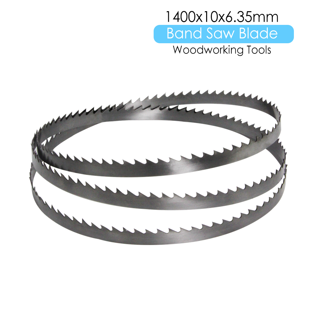 "55-1/8 "" Bandsaw Blade 1400 X 10 X 0.65mm Carbon Steel Woodworking Tools Accessories For Scheppach Draper Fox Workzone TPI 6"